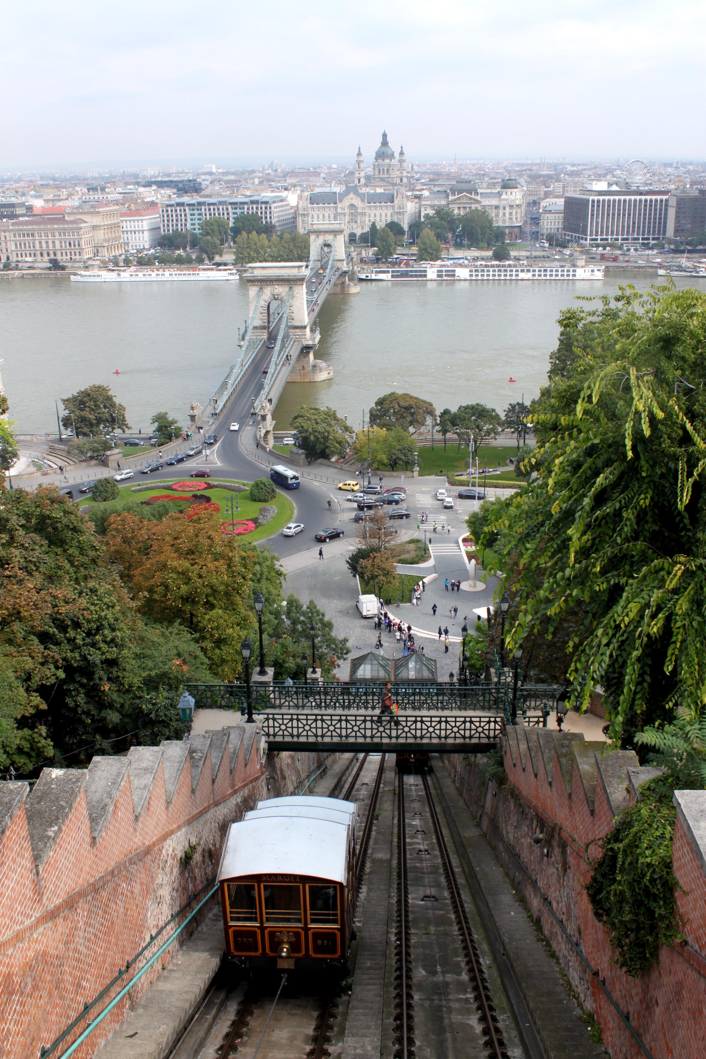 Widok Budapeszt